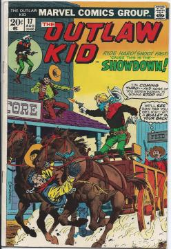 The Outlaw Kid Vol.1 #17