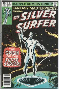 The Silver Surfer #1