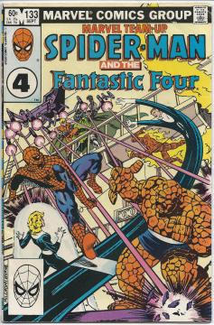 Marvel Team-Up starring Soider-Man and The Fantastic Four Vol.1 #133