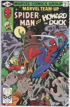 Spider-Man and Howard the Duck #96