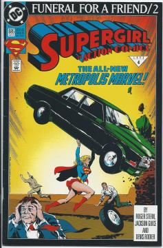 Action Comics Supergirl #685