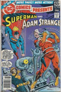 DC Comics Presents Superman and Adam Strange Vol.1 #3