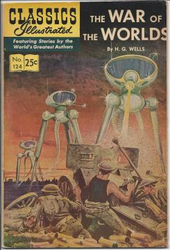 Classics Illustrated: The War of the Worlds by H.G. Wells